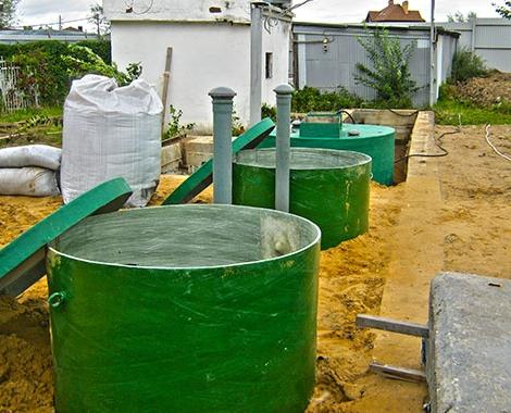 Оборудование дождевой канализации