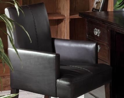 Кресла из массива дерева тика