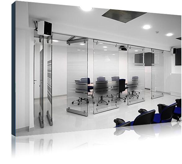 Стеклянные офисные перегородки - как основа комплексного подхода к улучшению условий труда