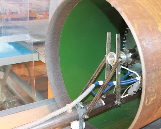 Внутреннее покрытие труб обеспечивает продление срока эксплуатации изделий