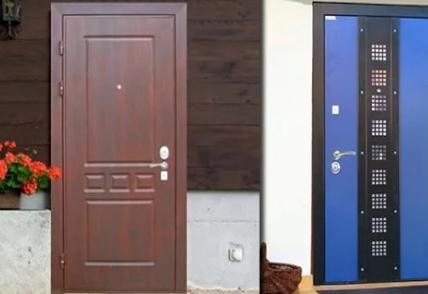 Металлические двери Интекрон
