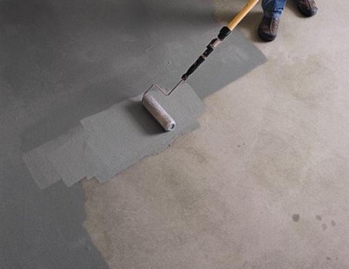 Как подготовить бетонный гараж к покраске