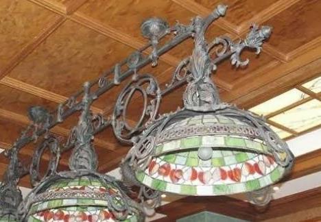 Кованый светильник в Екатеринбурге