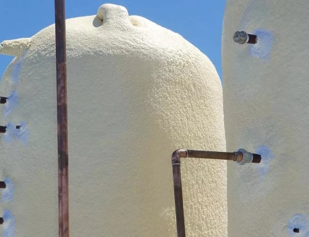 Теплоизоляция резервуаров пенополиуретаном