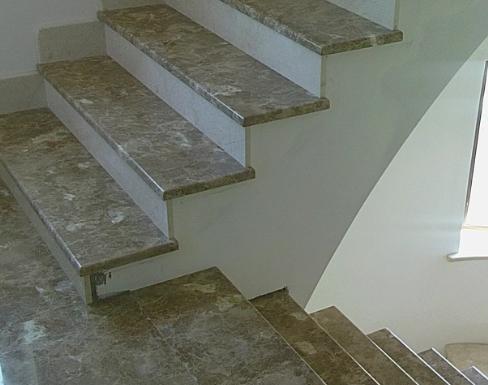 Уличные лестницы под мрамор