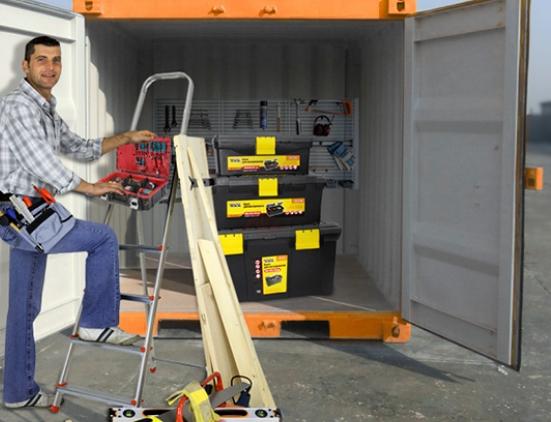 Где хранить строительные инструменты
