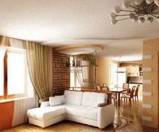 Как подобрать потолок в гостиную