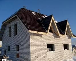 Строим дом из силикатного кирпича