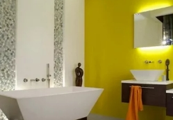 Выбираем нестандартные цвета для ванной комнаты
