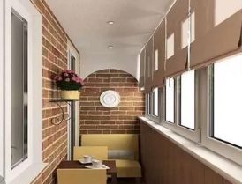 Интересные варианты использования балкона