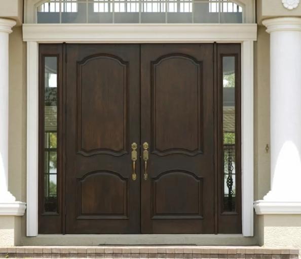 Выбор входной двери для частного дома