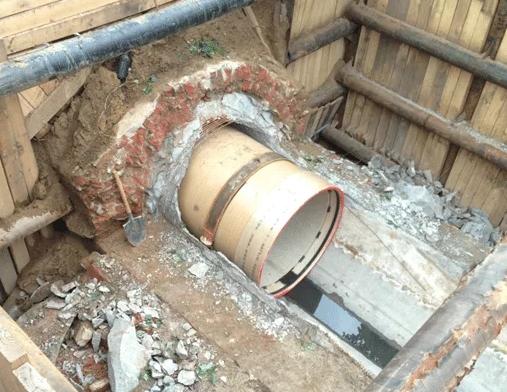 Санация водопроводов рукавом