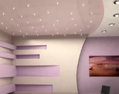 Натяжные потолки. Креативные решения