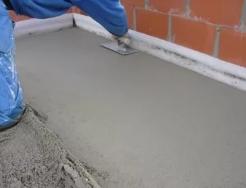 Как организовать цементно-песчаный пол