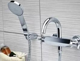 Выбор и установка смесителя для ванной