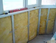 Выбор теплоизоляционных материалов для балкона