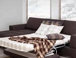 Виды мягкой мебели: спальные раскладные диваны