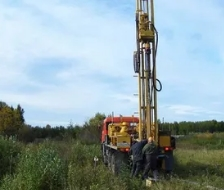 Проведение геологических исследований на участке