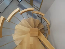 Конструкция и материал винтовой лестницы