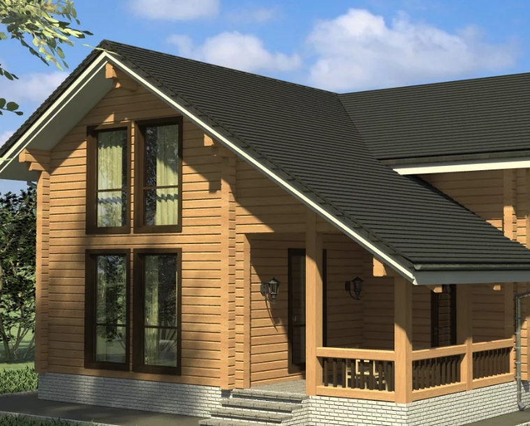 Почему стоит заказать проекты домов из бруса