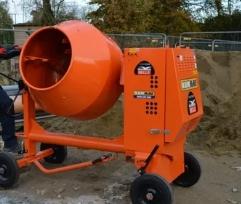 Использование бетоносмесителя
