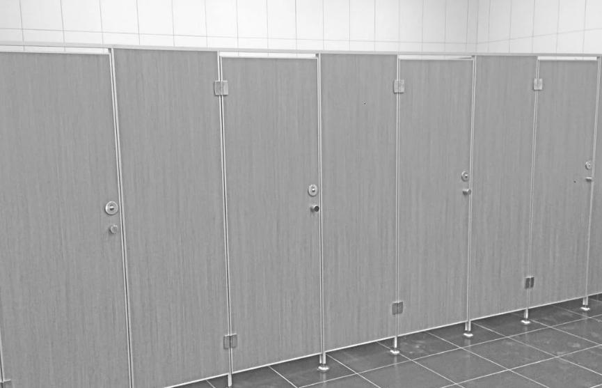Где применяются сантехнические перегородки стандартные