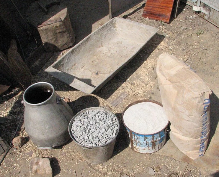 Изготовление цемента своими руками. Несколько рецептов