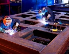 Подготовительные этапы при изготовление металлоконструкций